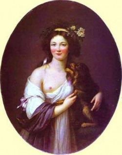 Portrait of mme daguesseau 1770 xx art museum bucharest romania