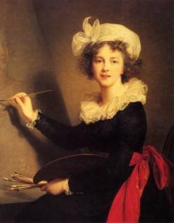Vigee Lebrun Marie Louise Elisabth Self Portrait