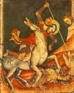 St Georges Battle With The Dragon
