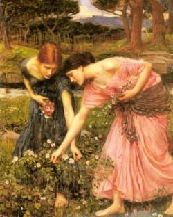Waterhouse Gather Ye Rosebuds While Ye May