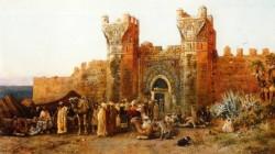 Gate of Shehal Morocco