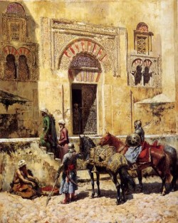 Weeks Edwin Entering The Mosque 1885