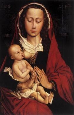 Weyden Portrait Diptych of Laurent Froimont left wing