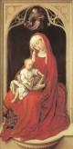 Weyden Virgin and Child Duran Madonna