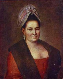 Portrait of an unknown woman 1780s xx tomsk regional ethnical museum tomsk russia