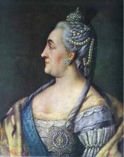 Portrait of catherine ii the great 1766 xx the novgorod art and history museum novgorod russia