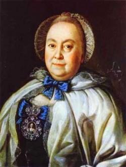 Portrait of countess m a rumyantzeva 1764 xx the russian museum st petersburg russia