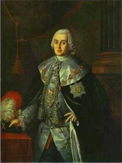 Portrait of general in chief count william w fermor 1765 xx the museum of the academy of arts st petersburg russia