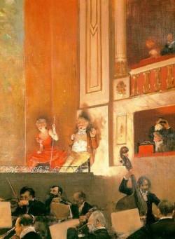 Representation at the Theatre des Varietes