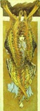 Seraphim sketch for the cathedral of st vladimir in kiev 2 1885 96 xx the russian museum st petersburg russia