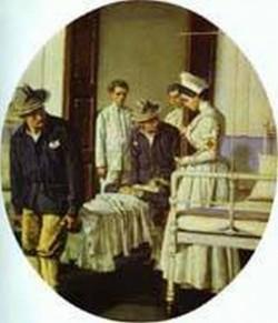 In the hospital 1901 xx the museum of art nikolayev ukraine