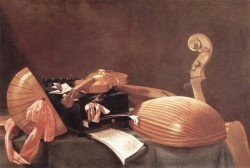 Still Life With Musical Instruments 2