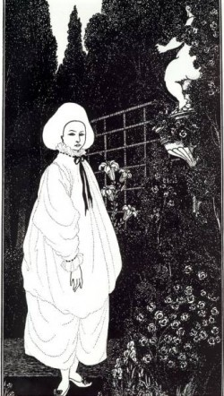 Frontispiece to The Pierrot of the Minute