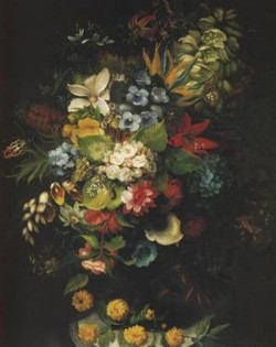 Flower bouquet in a vase 1827 xx national museum in warsaw