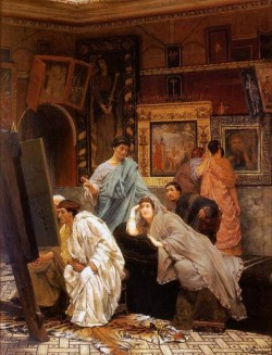 Alma Tadema A Collection of Pictures at the Time of Augustus