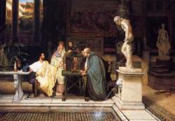 Alma Tadema A Roman Art Lover2