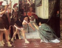 Alma Tadema Proclaiming Claudius Emperor