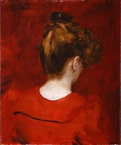 Carolus Duran Study of Lilia