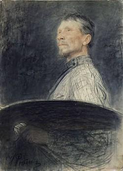 Repin Portrait of AE Arkhipov