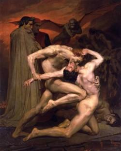 Dante et Virgile au Enfers