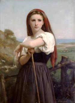 Jeune bergere 1868