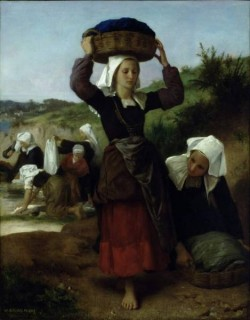 Washerwomen of Fouesnant 1869