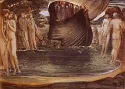 Burne Jones Sir Edward Coley Design For The Sirens