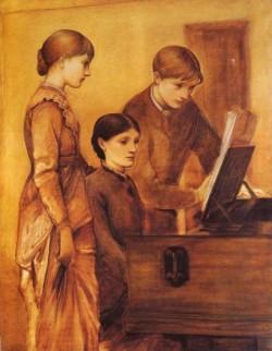 Burne Jones Sir Edward Coley Portrait Group Of The Artists Family