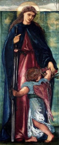 Burne Jones Sir Edward Coley Saint Dorothy