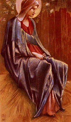 Burne Jones Sir Edward Coley The Virgin
