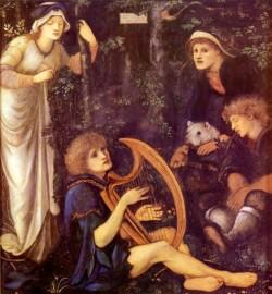 Burne Jones Sir Edward The Madness Of Sir Tristram