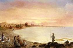 Sunrise at Saint Malo 1878