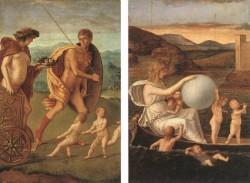 Four allegories 1 EUR