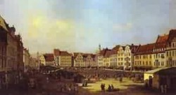 the old market square in dresden 1747 55 XX the hermitage st petersburg russia