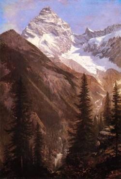 Canadian Rockies Asulkan Glacier