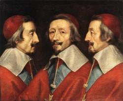 Champaigne Triple Portrait of Richelieu