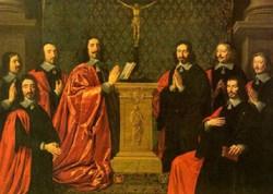the aldermen of the city of paris 1648 XX musee du louvre pa