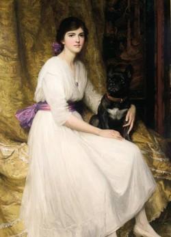 Dicksee Sir Francis Bernard Portrait of the Artist s Niece Dorothy