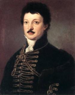 Portrait of Poet Daniel Berzsenyi