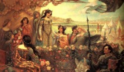 James Lancelot and Guinevere