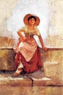Frank Florentine Flower Girl2