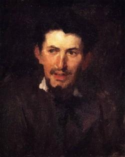 Frank Portrait of a Fellow Artist