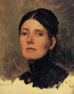 Frank Portrait of Elizabeth Boott