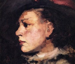 Frank Profile of Girl with Hat