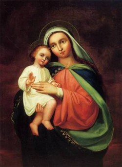 Madonna and Child 1867
