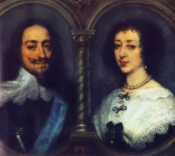 CharlesI of England and Henrietta of France WGA