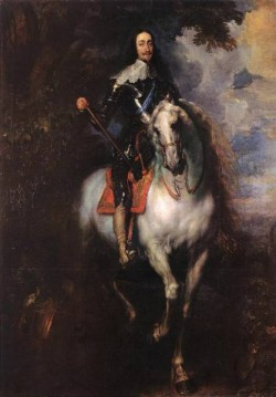 Equestrian Portrait of CharlesI King of England WGA