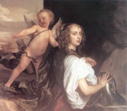 Portrait of a Girl as Erminia Accompanied by Cupid CGF