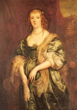 Portrait Of Anne Carr Countess Of Bedford