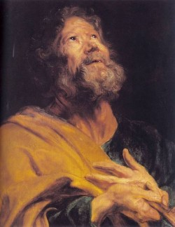 The Penitent Apostle Peter CGF